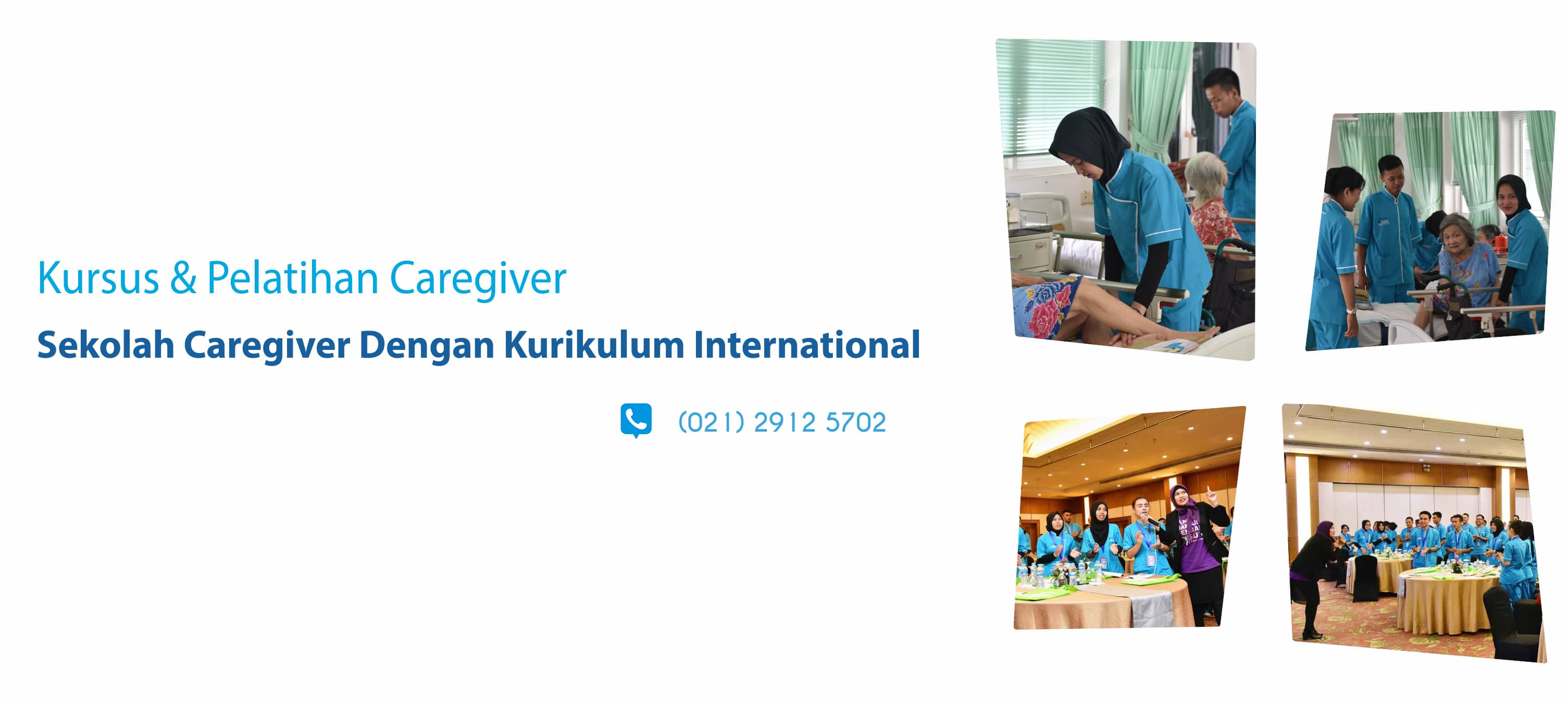 Kami memiliki Layanan pelatihan untuk menjadi caregiver handal
