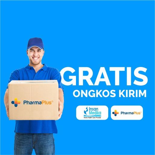 Promo produk Pharma Plus dari Insan Medika, dapatkan gratis ongkir untuk jabodetabek
